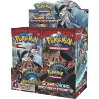 Pokemon Sonne und Mond: Aufziehen der Sturmröte Display