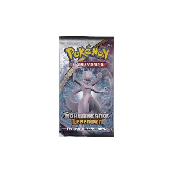 4 Booster Schimmernde Legenden Pokemon