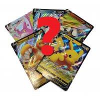 5 unterschiedliche übergroße Pokemon-XXL Karten (Oversized)