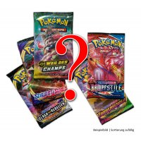 5 gemischte deutsche Pokemon Boosterpacks