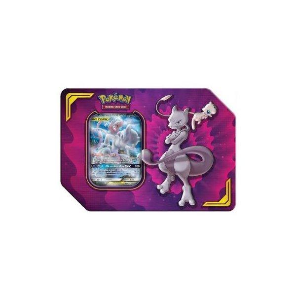 Mewtwo und Mew GX Power-Partner Tag Team Tin Box (englisch)