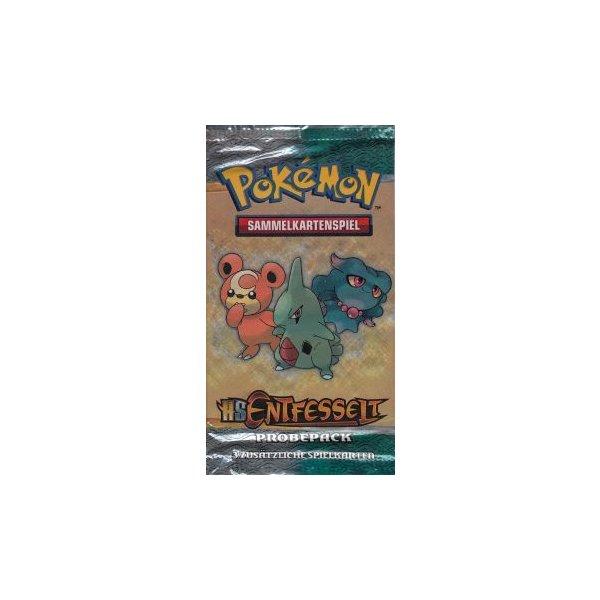 OVP Pokemon Deutsch DE HS Entfesselt BOOSTER