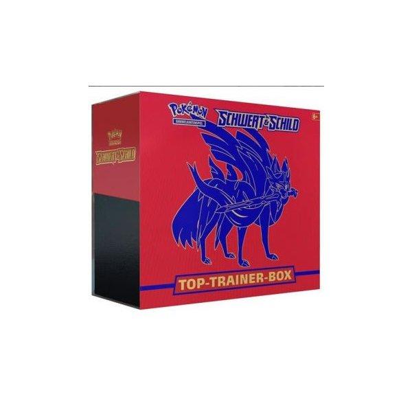 Pokemon Schwert & Schild Top (Elite) Trainer Box Zacian (ROT)
