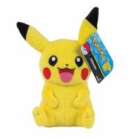 Pikachu Plüschfigur 20 cm - Pokemon Stofftier von Tomy (Wave 4)