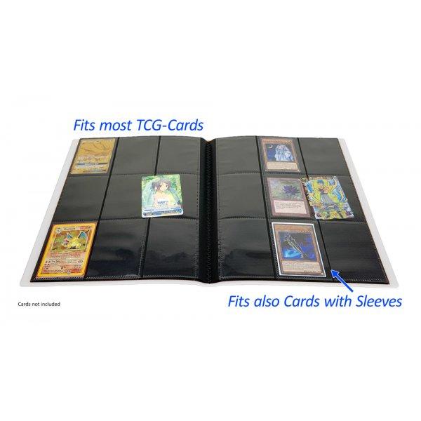 Arkero-G Premium 9-Pocket Card Binder (Tausch- & Sammelalbum) - Weiß
