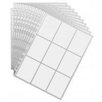 50 Arkero-G Premium 9-Pocket Pages (50 Seiten) - für Karten in japanischer Größe (z.B. Yu-Gi-Oh!)