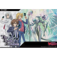 Cardfight Vanguard V - The Heroic Evolution Extra Booster Display