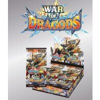 War of Dragods Ace Vol. 5  Booster Display