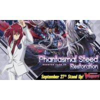 Cardfight Vanguard - Phantasmal Steed Restoration Booster Display