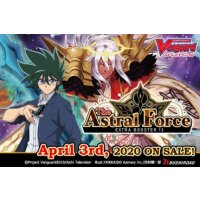 Cardfight Vanguard V - The Astral Force Extra Booster Display