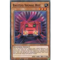 Bauzug Signal Rot