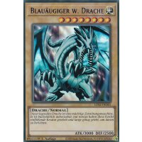 Blauäugiger w. Drache COLORED RARE