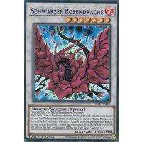 Schwarzer Rosendrache COLORED RARE