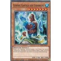 General Gantala der Eisbarriere