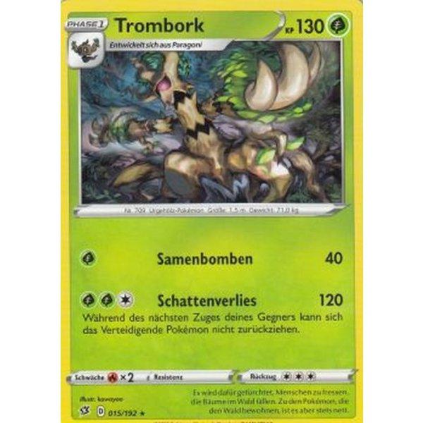Trombork 015//192 Rare Karte Pokemon Clash der Rebellen Boosterfrisch
