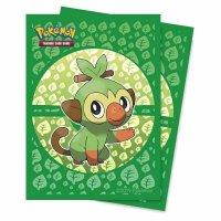 Pokemon Sleeves Galar Starter Chimpep (65 Kartenhüllen)
