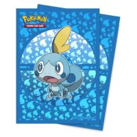 Pokemon Sleeves Galar Starter Memmeon (65 Kartenhüllen)