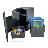 Arkero-G Premium 100+ Magnetic Flip & Tray Deck Box Schwarz