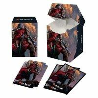 Combo Magic Deck Box + 100 Sleeves Zendikar Rising Anowon, the Ruin Thief (100+ Deck Box) von Ultra Pro