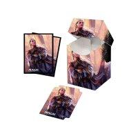 Combo Magic Deck Box + 100 Sleeves Commander Legends Rebbec, Architect of Ascension (100+ Deck Box) von Ultra Pro