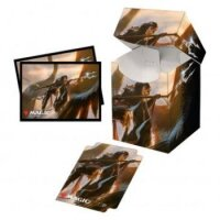 Combo Magic Deck Box + 100 Sleeves Commander Legends Liesa, Shroud of Dusk (100+ Deck Box) von Ultra Pro