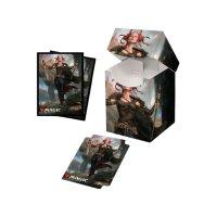 Combo Magic Deck Box + 100 Sleeves Commander Legends Jeska, Thrice Reborn (100+ Deck Box) von Ultra Pro
