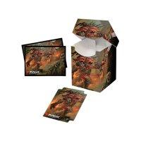 Combo Magic Deck Box + 100 Sleeves Commander Legends Rograkh, Son of Rohgahh (100+ Deck Box) von Ultra Pro