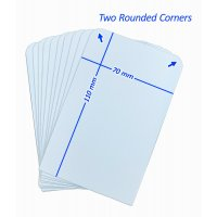 10 Arkero-G Kartentrenner Groß (10 Tall Card Dividers for Storage Boxes) Weiß
