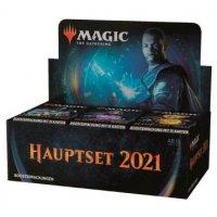 Magic Hauptset 2021 Booster Display (36 Packs, deutsch)