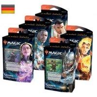 Magic Hauptset 2021 Planeswalker Decks (alle 5 Decks, deutsch)
