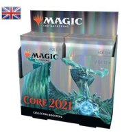 Magic Core Set 2021 Collector Booster Display (12 Packs, englisch)