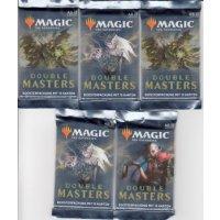 Magic Double Masters Booster (5 Stück, deutsch)