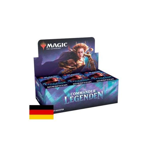 Commander Legenden Draft Booster Display (24 Packs, deutsch)