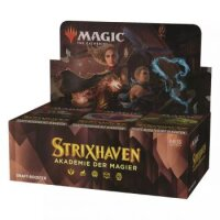 Strixhaven: Akademie der Magier Draft Booster Display (36 Packs, deutsch) VORVERKAUF