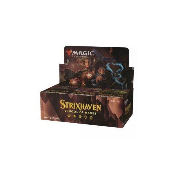 Strixhaven: School of Mages Draft Booster Display (36 Packs, englisch) VORVERKAUF