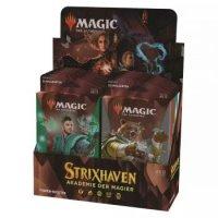 Strixhaven: Akademie der Magier Themen Booster Display (12 Packs, deutsch)