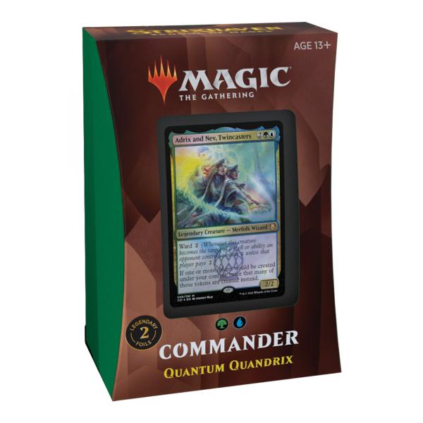 Strixhaven: School of Mages Commander Deck - Quantum Quandrix (englisch)
