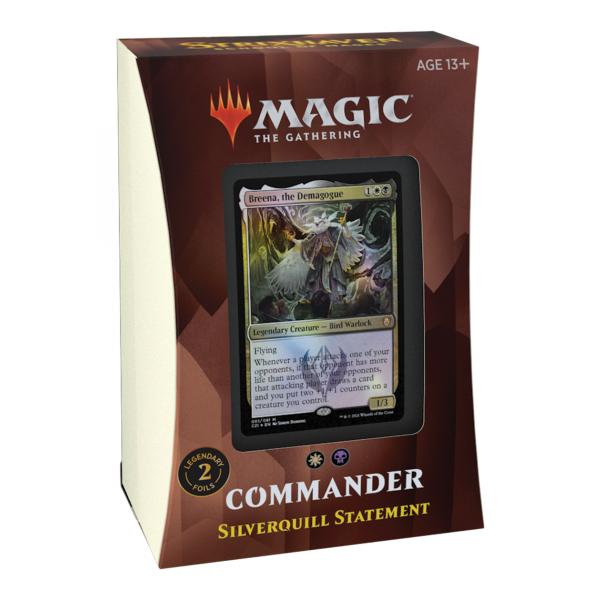 Strixhaven: School of Mages Commander Deck - Silverquill Statement (englisch)