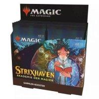 Strixhaven: Akademie der Magier Collector Booster Display (12 Packs, deutsch)