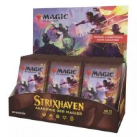 Strixhaven: Akademie der Magier Set Booster Display (30 Packs, deutsch)