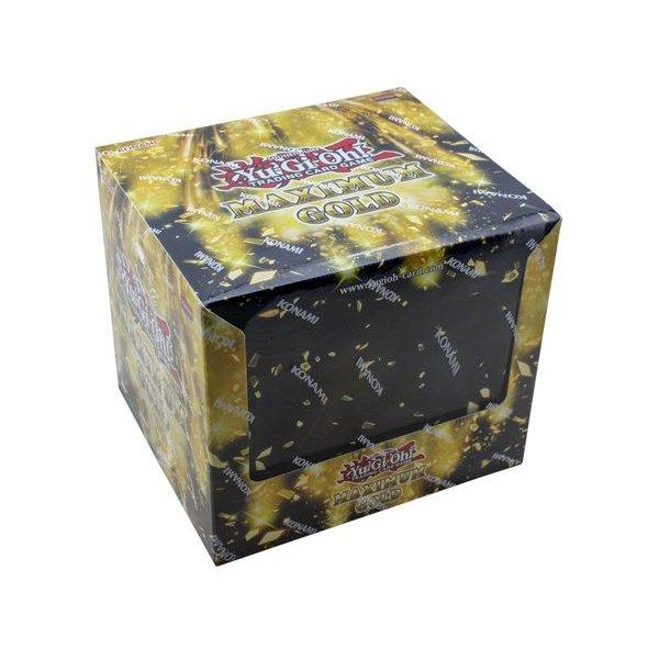 Yu-Gi-Oh Maximum Gold Tuckbox Display