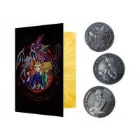 Yu-Gi-Oh! Sammelmünzen 3er-Pack Yugi, Kaiba und Joey *LIMITIERTE EDITION*