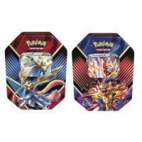 Alle 2 Pokemon Sommer Tins 2020 Galar-Legenden: Zacian V und Zamazenta V