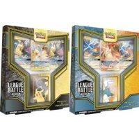 League Battle Decks Pikachu & Zekrom-GX und Reshiram & Charizard-GX (2 Decks, englisch)