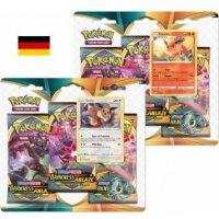 Schwert & Schild: Flammende Finsternis 3-Pack Blister