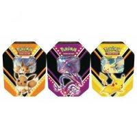 Alle 3 Pokemon Herbst Tins 2020: Pikachu-V, Evoli-V und Endynalos-V