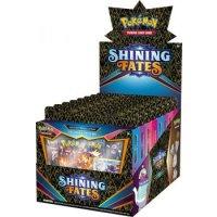 Alle 4 Shining Fates Pin Kollektionen: Dedenne, Bunnelby, Polteageist und Galarian Mr. Rime (englisch)