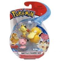 Enton & Mauzi & Snubbull 5 cm - Pokemon Battle Figuren von WCT
