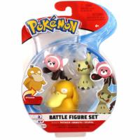 Enton & Mimigma & Velursi 5 cm - Pokemon Battle Figuren von WCT