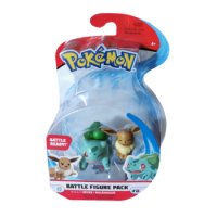 Evoli & Bisasam 5 cm - Pokemon Battle Figuren von WCT